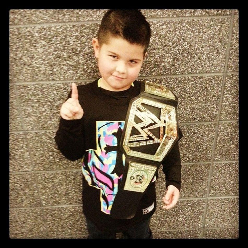 New WWE Champ. ...