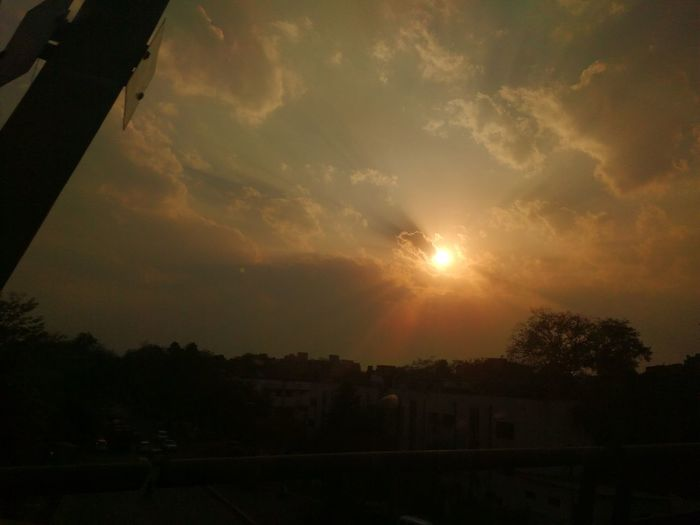 Sunset Time ...... Pic Click From Metro