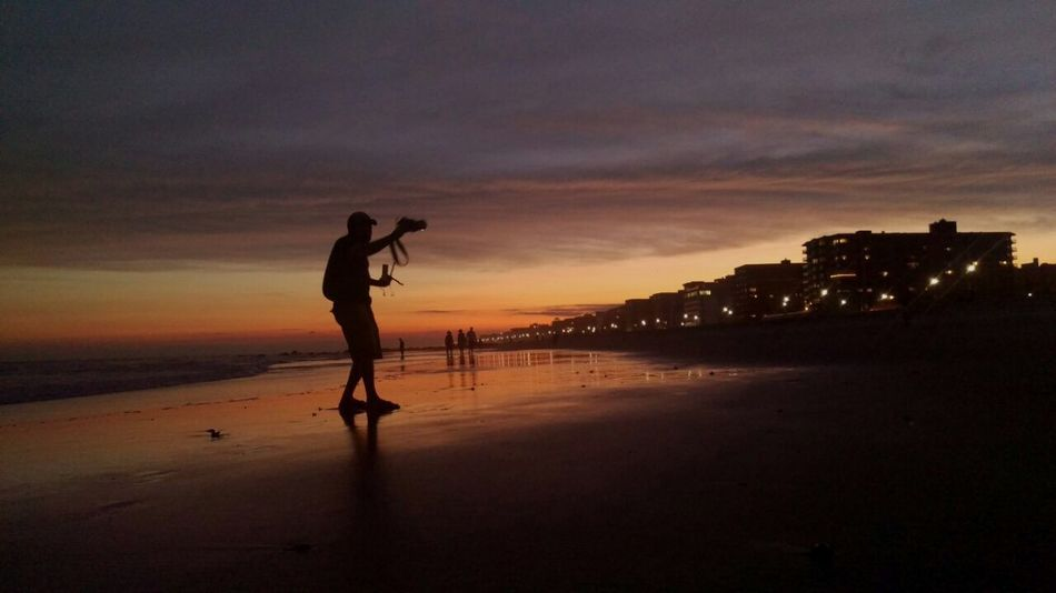 Sunset At Long Beach, NY That's Me Taking Photos EyeEm Best Shots Sky Collection Visualmagic Beautiful Sky Splendid_reflections EyeEm Sunset Popular Photos