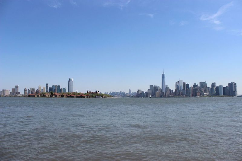Manhattan Skyline, New York View Massive New York Photographer Photography Manhattan Canon600D Nofilter Water Holiday Picoftheday Miles Away