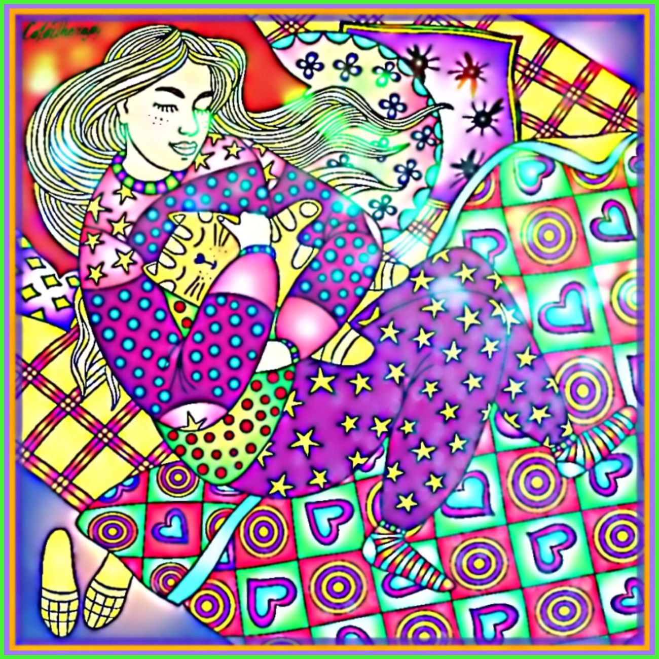 Art Series 🎨🖌🎨 Colortherapy ColortheraphyApp Picsart Adultcolouring Art Therapy ArtSeries🖌 Colourful Vibrant