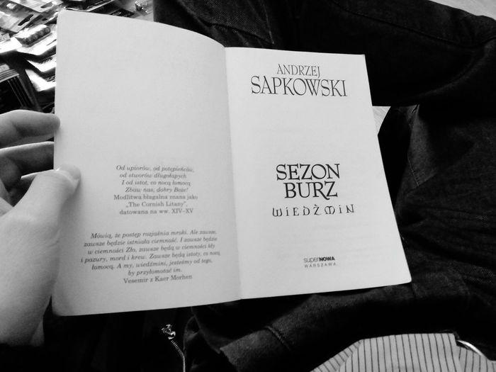 Relaxing Wiedźmin Sapkowski