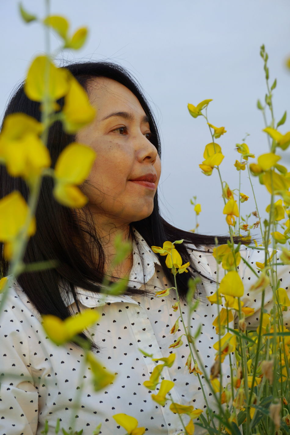 Close-up Day Flower Nature One Person Outdoors People Plant Portrait