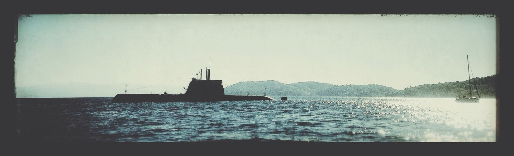 just a Submarine Popping Out for some Air !!