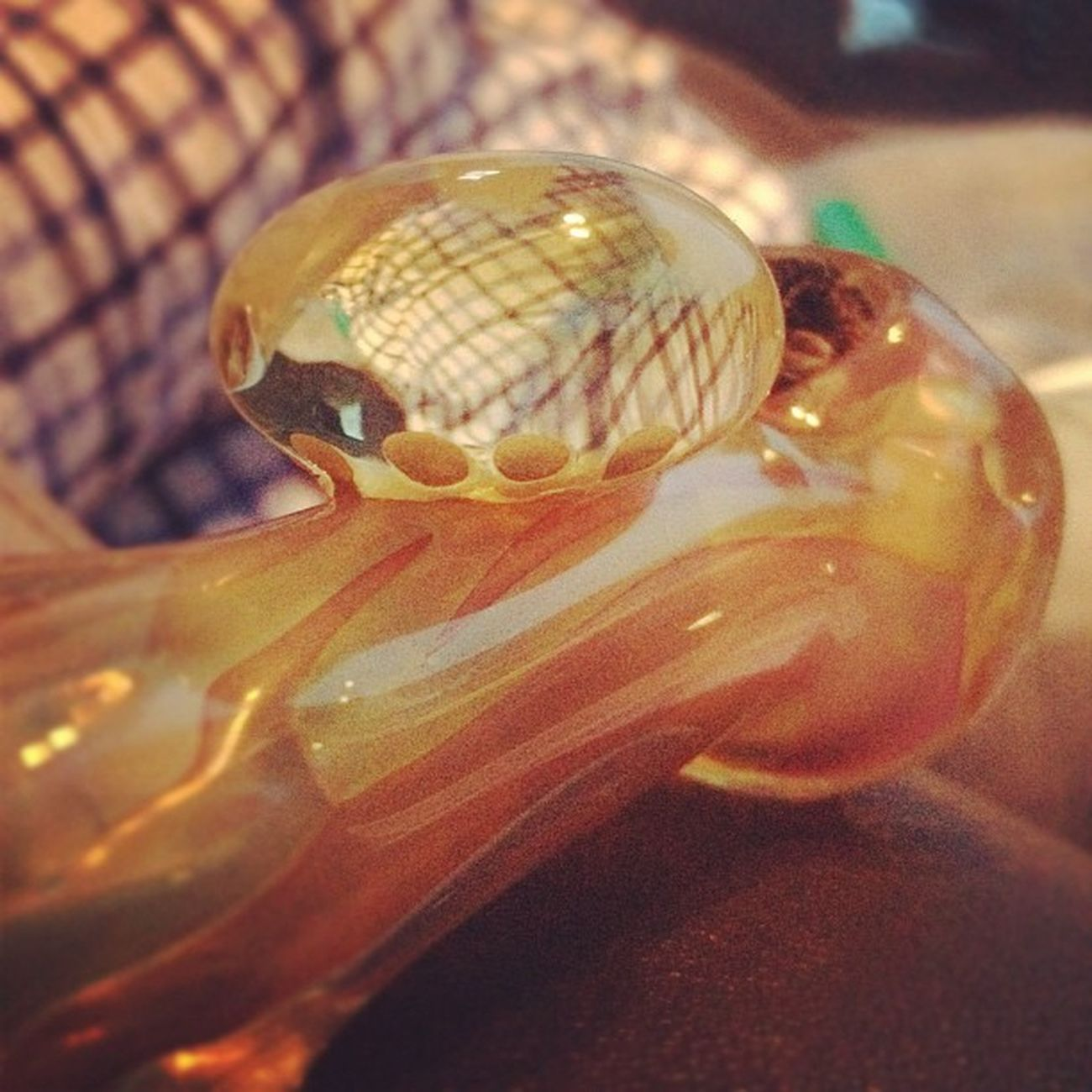 420365247 Weed Newpiece Pipes bubbles mushrooms plaid heavyhitter