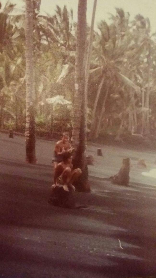 Old But Awesome Luckywelivehawaii kalapana kaimubay beforthelavaflow blacksand coconuttrees 808love Taking Photos Enjoying Life HiLife Ouradventures Ohanalove Bigislandlove