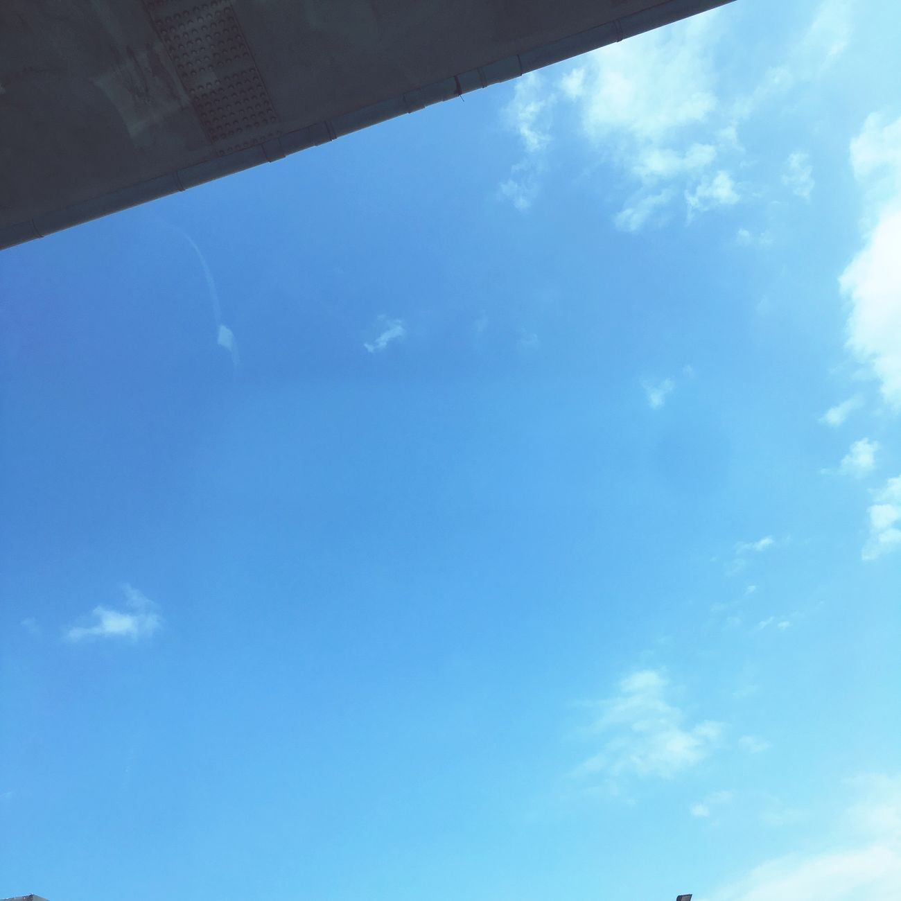 Sky Blue Low Angle View No People Nature Cloud - Sky Day Outdoors In A Car