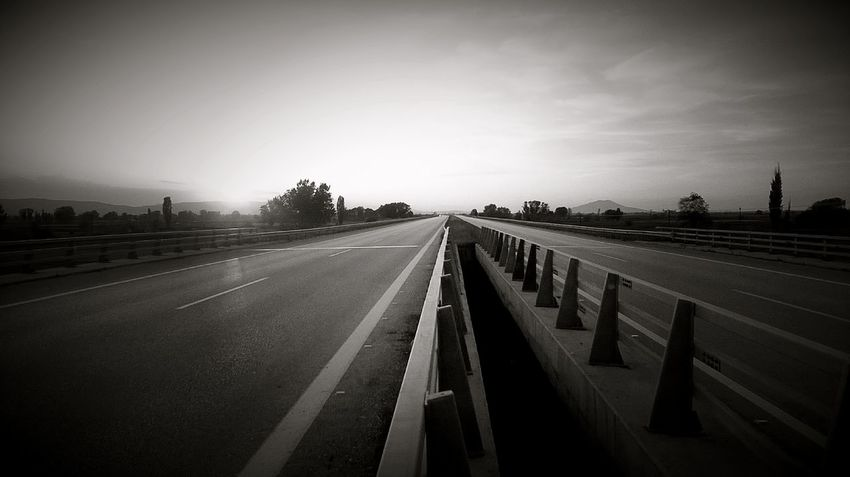 Black And White Road Picoftheday Nature Sky Natureporn