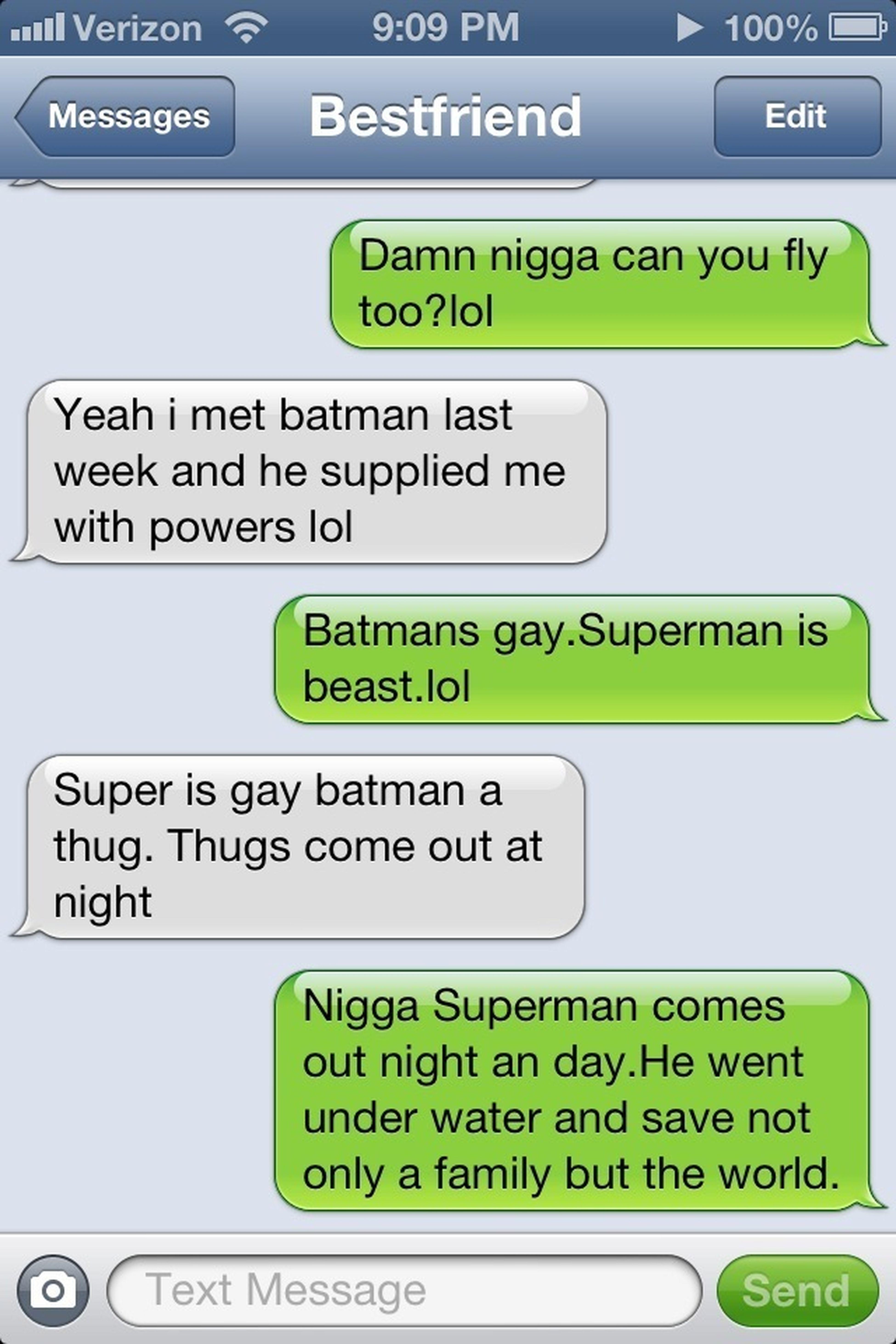 Conversation With The Bestfriend.