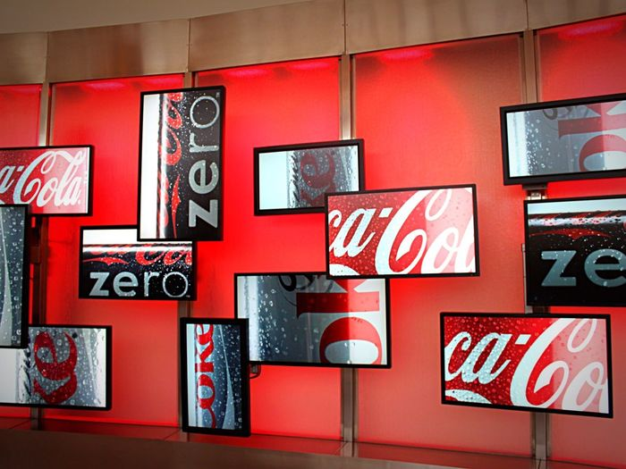 World of Coca Cola! ❤️❤️❤️ Red Text Cocacola Cola Cola Coke Coke Collection Museum Textured  No People Awesome Technology Indoors  ATL Atlanta Worldofcocacola
