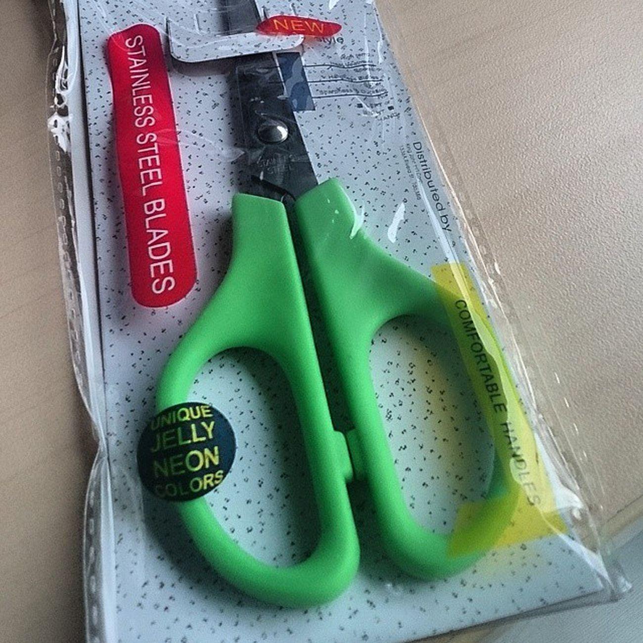 Pinasaya mo ang araw q.. My 1st scissors after 5 yrs and counting! Gunting