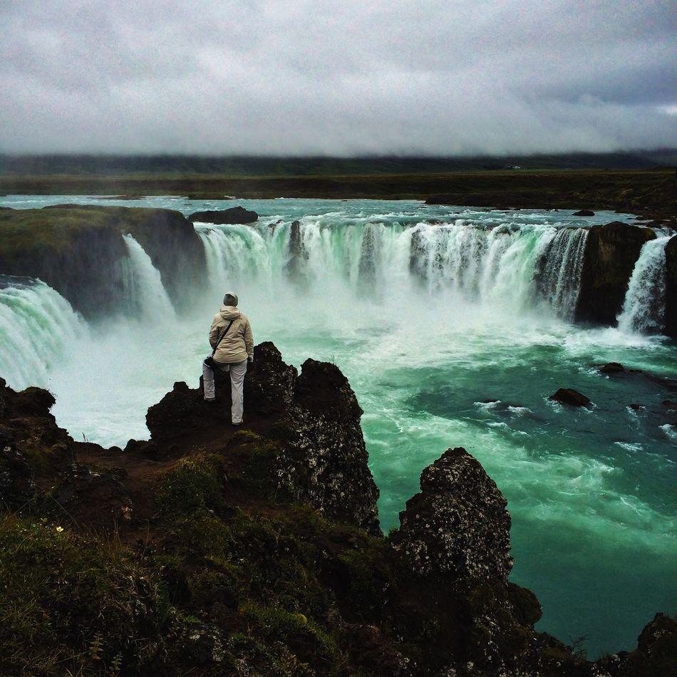 Beautiful stock photos of waterfall, Beauty In Nature, Cloud, Day, Falling