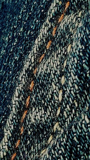 My Jeans up close Blue Jeans Jeans Textures And Surfaces Textures Texture Textureporn Patterns & Textures Texture Photo Photography Texture Threads Thread Jean Pants Clothing Levis Close Up Close-up Macro