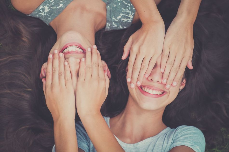 Togetherness Two People Friendship Beauty Human Hand Lifestyles Human Body Part Women Bonding Real People Close-up Nail Polish Indoors  People Adult Day