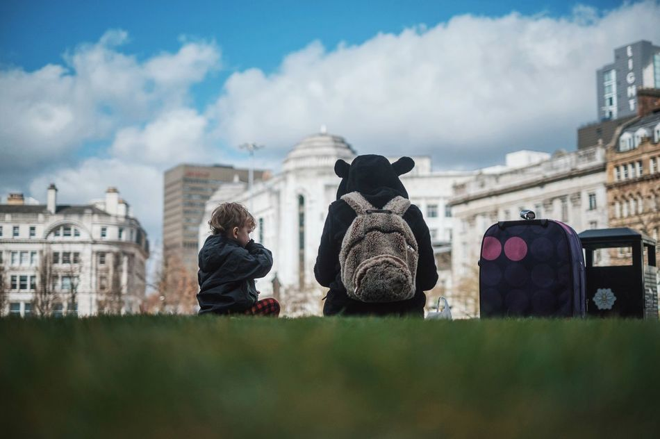 Beautiful stock photos of family, Architecture, Backpack, Bonding, Boys