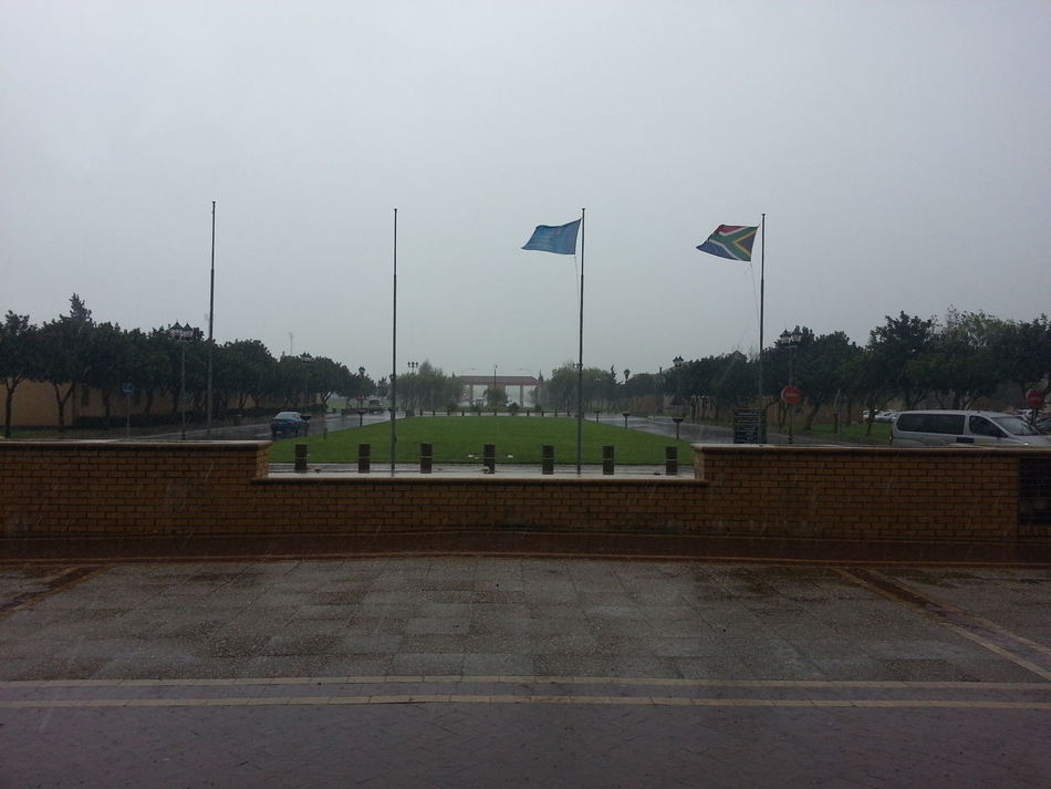 Rain at Cput