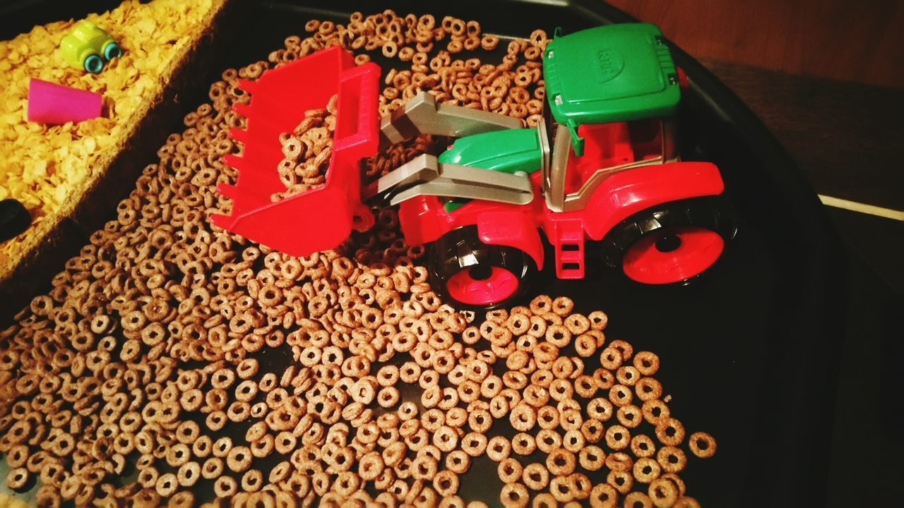 No People Close-up Indoors  Toys Tractor Childrens Play Toysphotography Invitation To Play Natural Parenting Notv