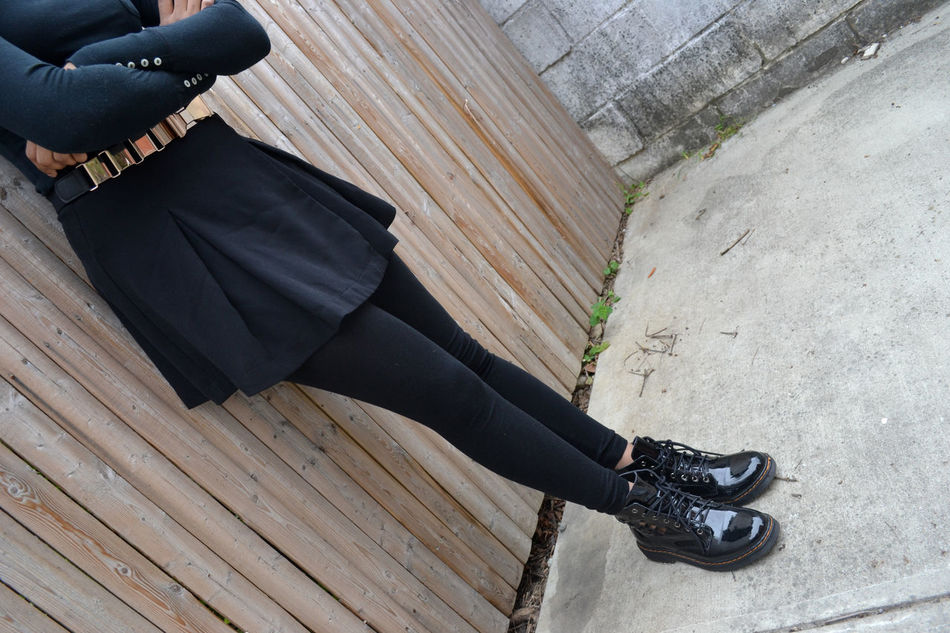Beautiful stock photos of gothic, Arms Crossed, Black, Casual Clothing, Day