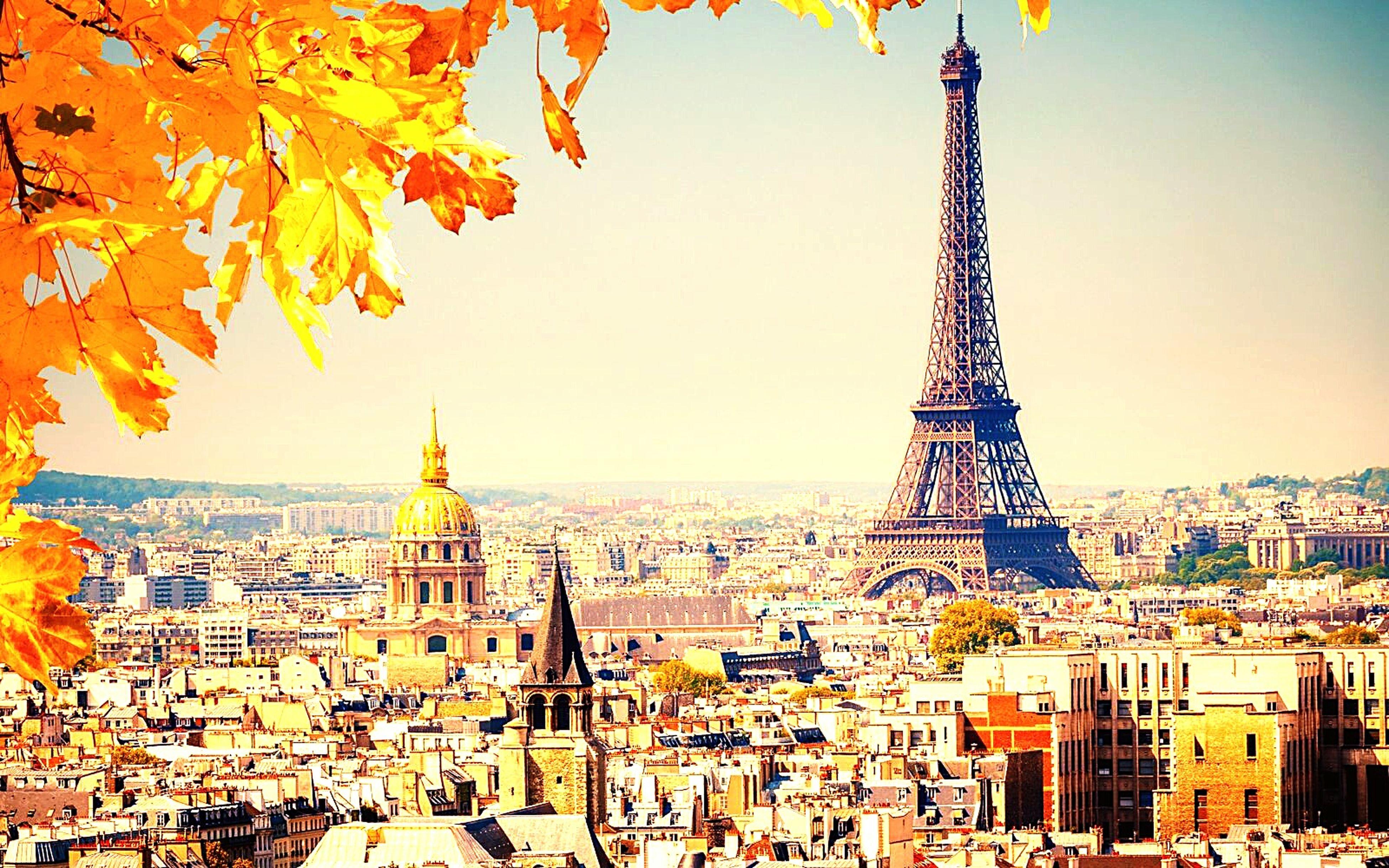 Paris 🔱 Paris Eiffel Tower Bonjour Paris City Life Multicolors  1000 Colours