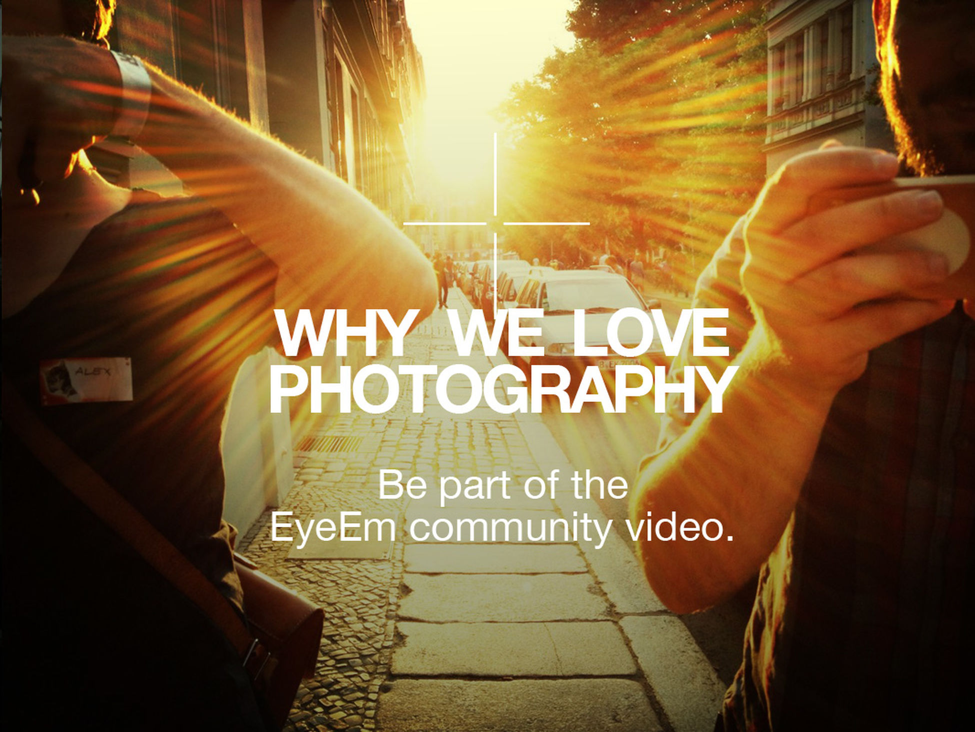 We're super excited about this: let's show the world how awesome the EyeEm community is and give our voice on what we love about photography. All details on our blog!