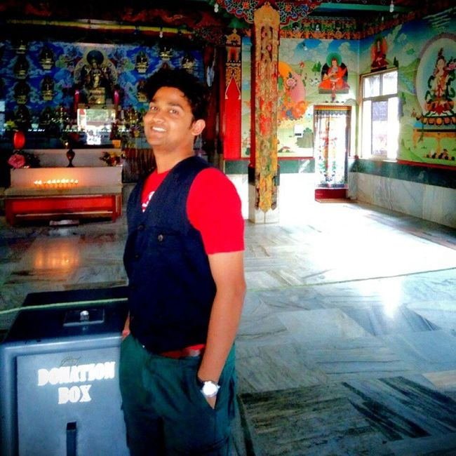 Coorgkarnataka Roadtrip Buddhistgoldentemple Wakaaaooooo smellofpeacefulness