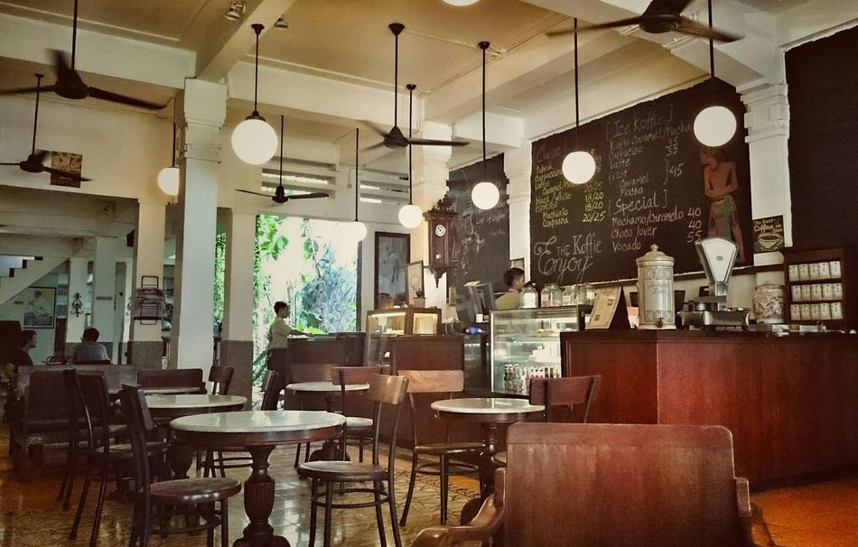 One of the best coffee shop Coffee Drinking A Latte Cafe Time Coffie Old Buildings Architecture
