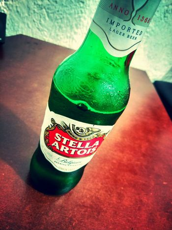 Close-up Beer Beer Time Beer - Alcohol Stellaartois Cerveza Relax Green Color
