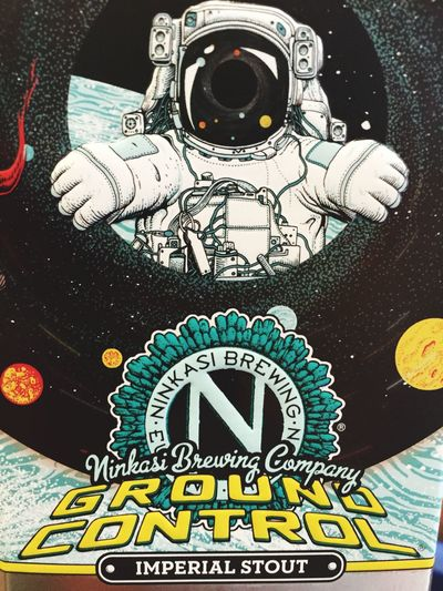 Ninkasi Brewing Company GroundControl ImperialStout Yeast  Space nice one guys