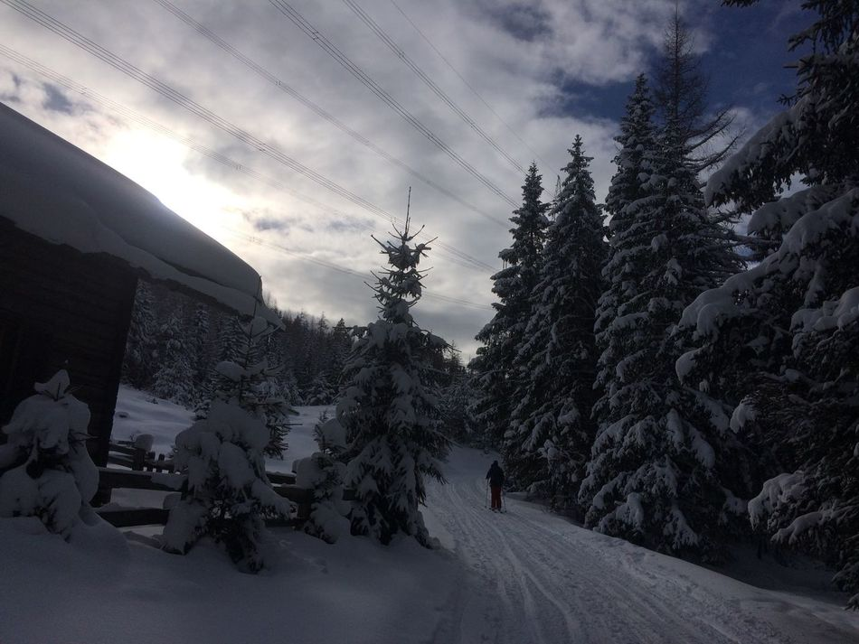 Beauty In Nature Cloud - Sky Cold Temperature Day Hoiday Landscape Mountain Nature No People Outdoors Powder PowderDay Powderdays Scenics Sky Snow Tirol  Tree Winter Winter Winterwonderland