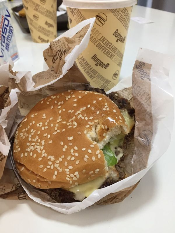 New burger in singapore