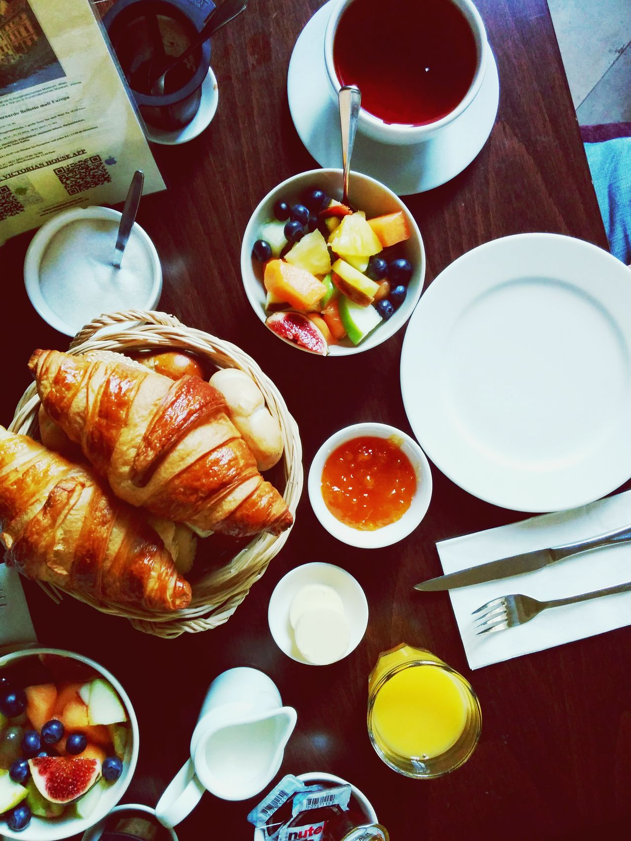 Good morning!! Mealtime Enjoying A Meal Breakfast Happiness Yummy The Foodie - 2015 EyeEm Awards EyeEm Best Shots Eye4photography  EyeEm Gallery Morning Rituals
