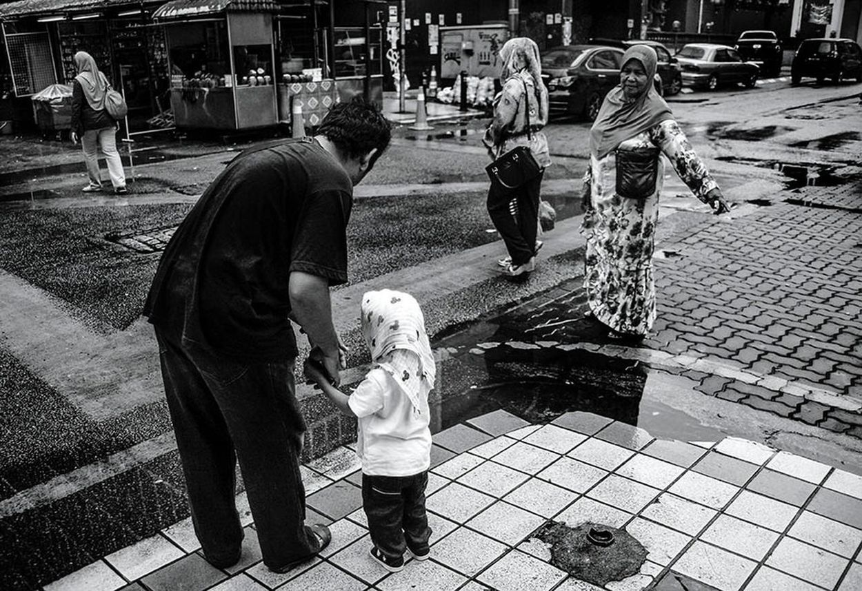 Family. Blackandwhite People Asiapictures Malaysia
