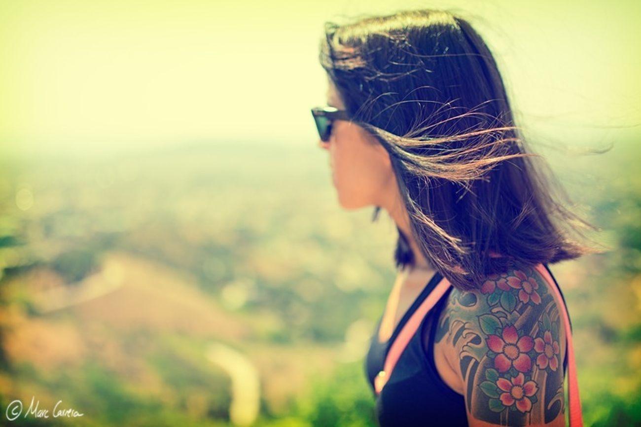 Hair Tattoo Hair Wind