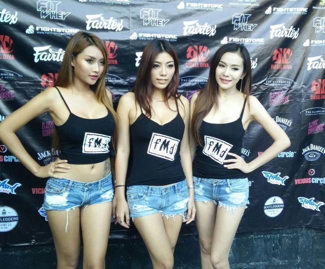 Gangsters Paradise Bangkok Thailand Boxing Ring Girl♡ Sexygirl SexyAsFuck Traveling Travel Hello World Sexy♡