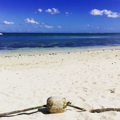 Mauritius Holiday No People Horizon Over Water Beach Sand Sky Sea Water Nature Tranquility Beauty In Nature Day Outdoors