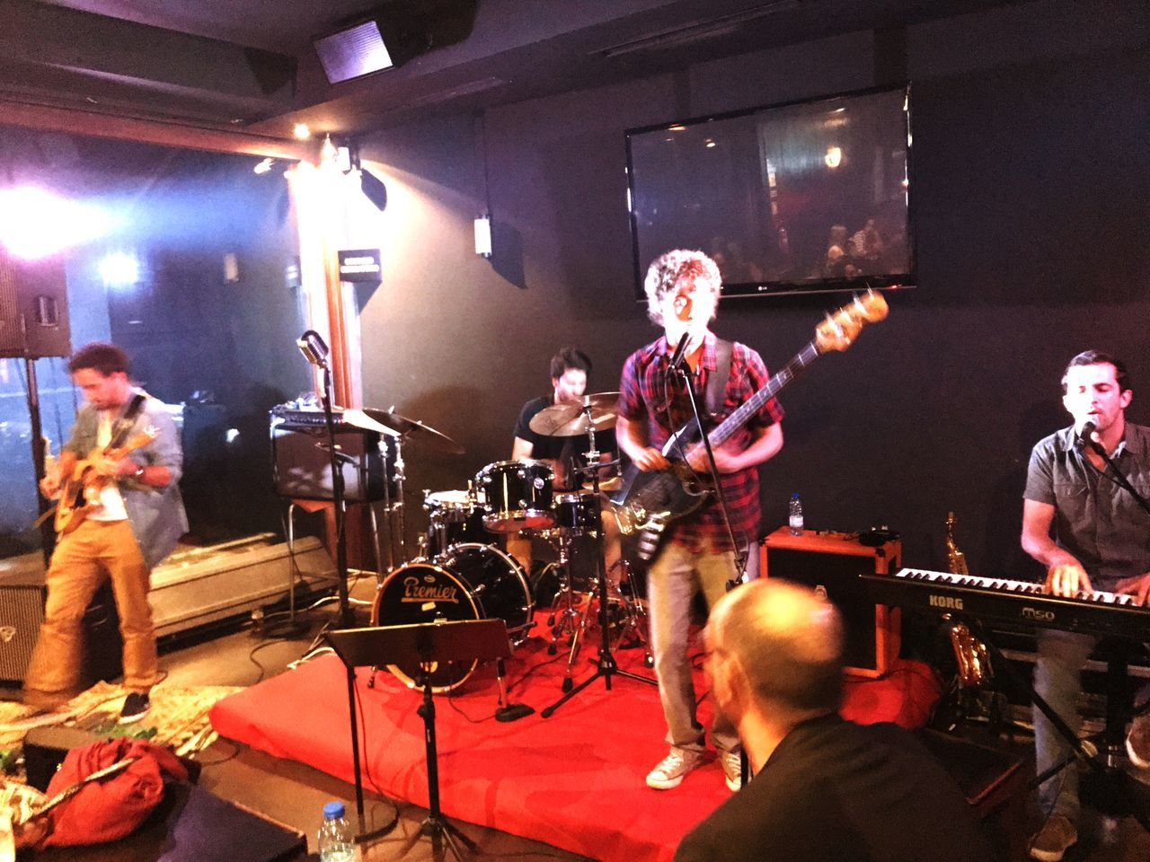 TASTY Music Musical Instrument Night Performance Group Musician