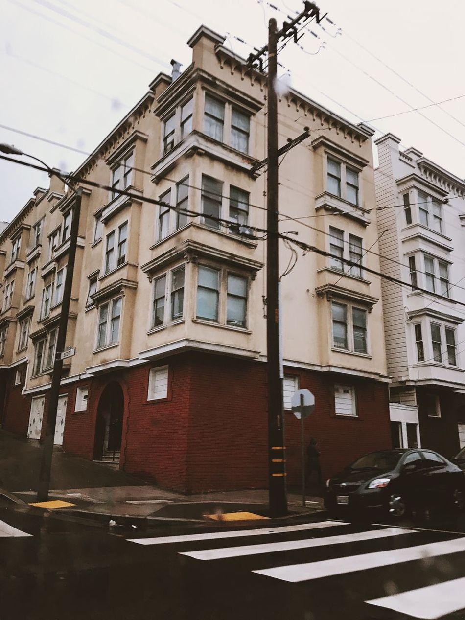 San Fran drive Building Exterior Architecture Street City San Francisco Bay Area California California Love California Dreaming