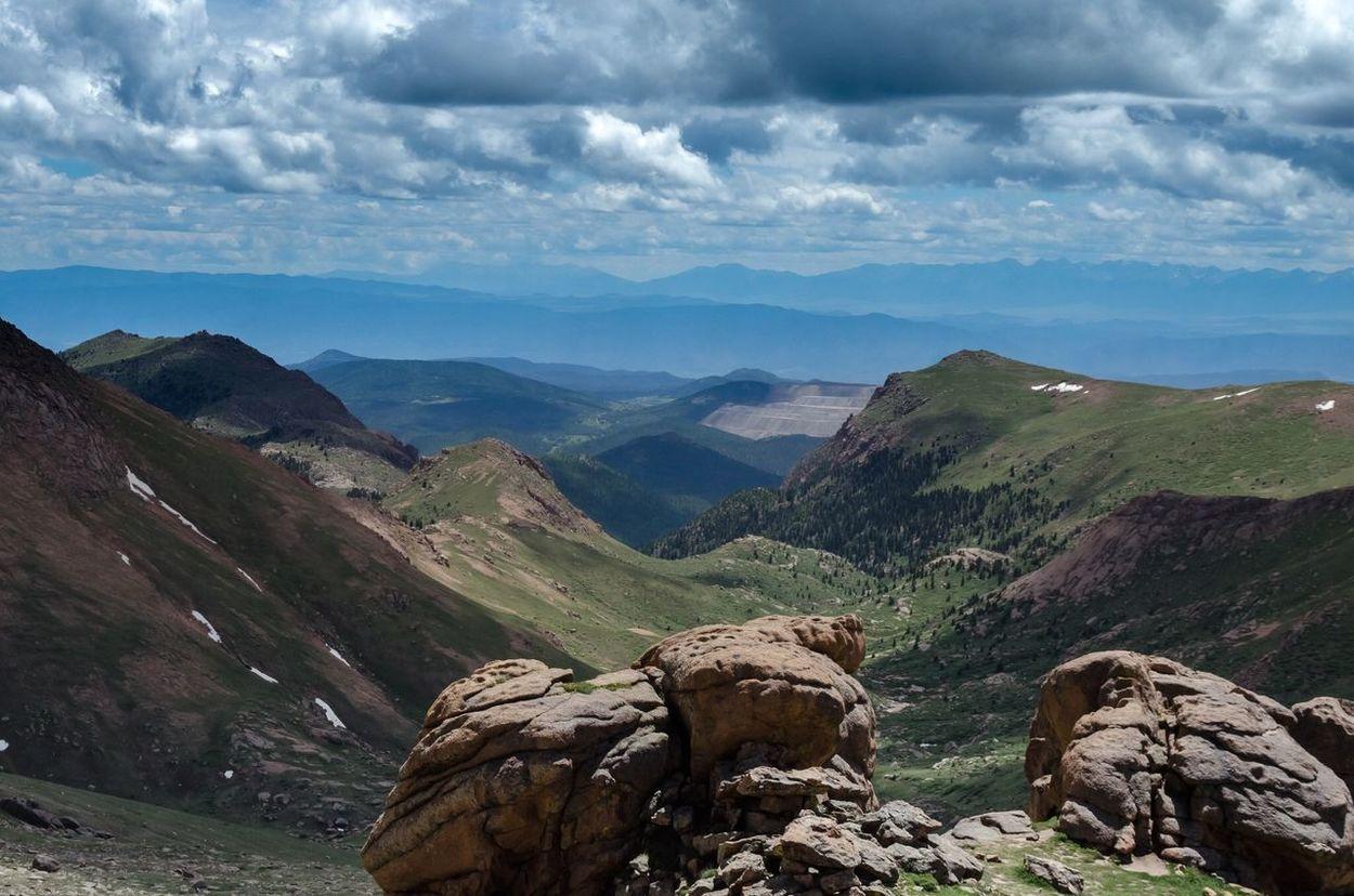 Colorado Outdoors Pikes Peak