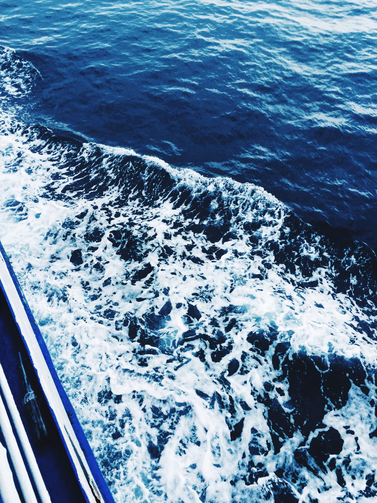 Sommergefühle aboard to the paradise Sea Beauty In Nature Wave Blue