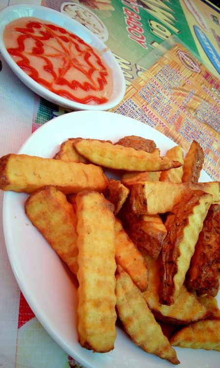 Fries with Mayo and Ketchup 🍟 Food And Drink Food Prepared Potato No People Plate Ready-to-eat Table Freshness Close-up Fast Food Day Philippines Fries Ketchup Rizal, Philippines Angono, Rizal, Philippines Angonorizal Foodtrip Foodtripping Foods
