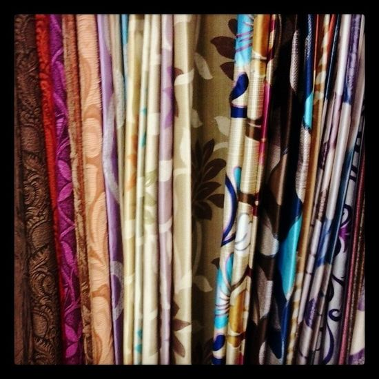 Curtains Shopping Colours Textiles Material Variant Designs Hindmata Choice Sodifficulttochoose Colourful Themarket Instacolour Instadifferent Instadaily Instaawesome Instaaddict Prints Cloth Stitching ChristmasIsComing Housepreparations Decoration