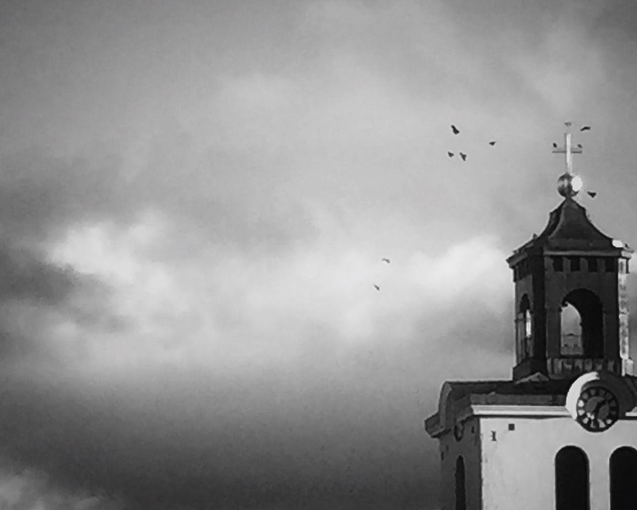 Birds Highupthesky Clouds And Sky Church Mycity Open Edit