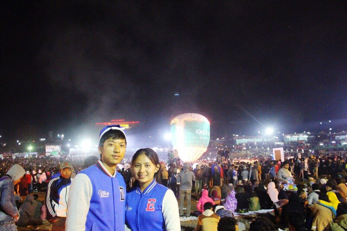 Quality Time Spending Time With Loved Ones♥ I Miss Him :'c <\3 Taunggyi Hot Balloons Festival