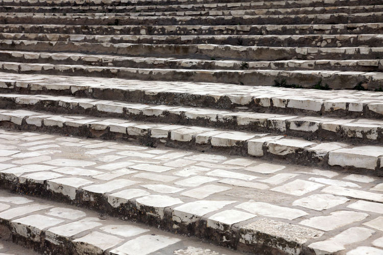 Stone stairs in front of the amphitheater in El Jem, Tunisia Built Structure Abandoned Africa Amphitheater Ancient Arena Arhitecture Building Exterior El Jem Empire Erosion Famous Place Gladiator Heritage History Landmark Old Ruin Roman Ruined Stairs Stone Stone Tunisia Unesco