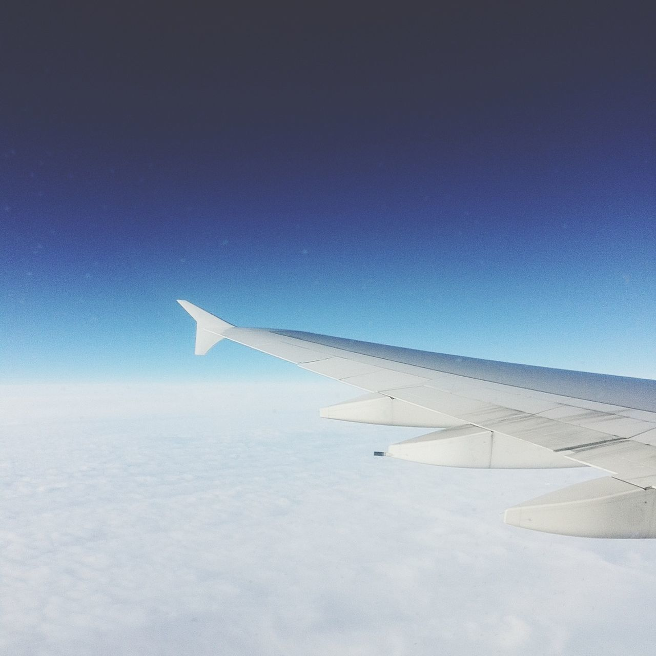 From A Plane Window