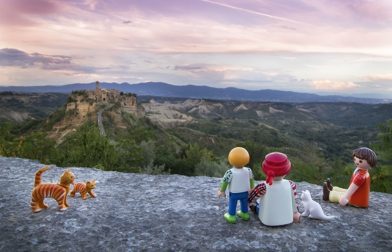 Civita Di Bagnoregio Cloud Cloud - Sky EyeEm Best Shots Eyeemtravel  Landscape Leisure Activity Lifestyles My Unique Style Outdoors Playmobil Scenics Sky Tourism Tourist Toys Toysaremydrug Toyslagram Toystagram Tranquil Scene Travel Travel Destinations Travel Photography Traveling Vacations