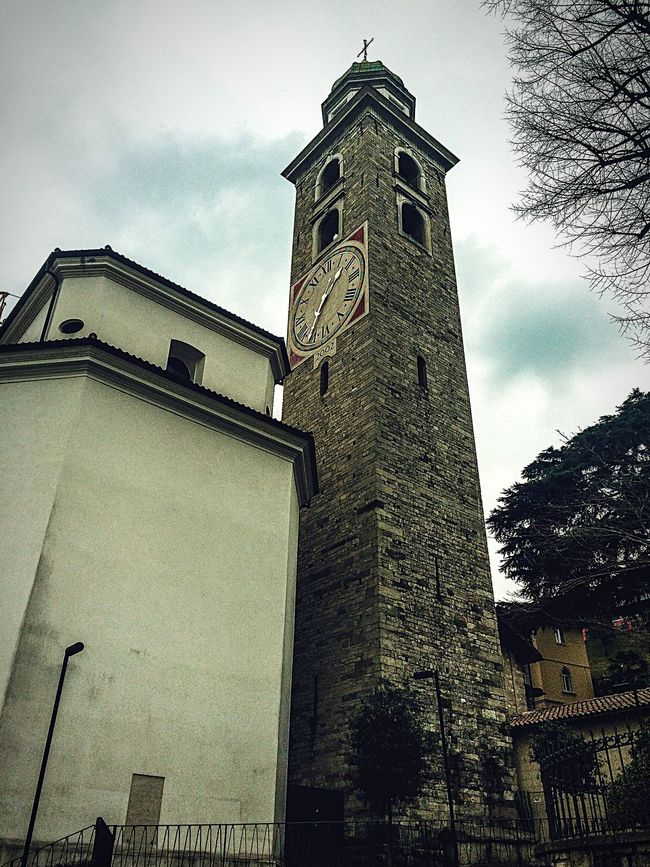 Bell tower. Traveling Pictureoftheday Picoftheday Eye4photography  Urban Geometry Lugano Switzerland EyeEm Best Shots Photo Of The Day IPhoneography