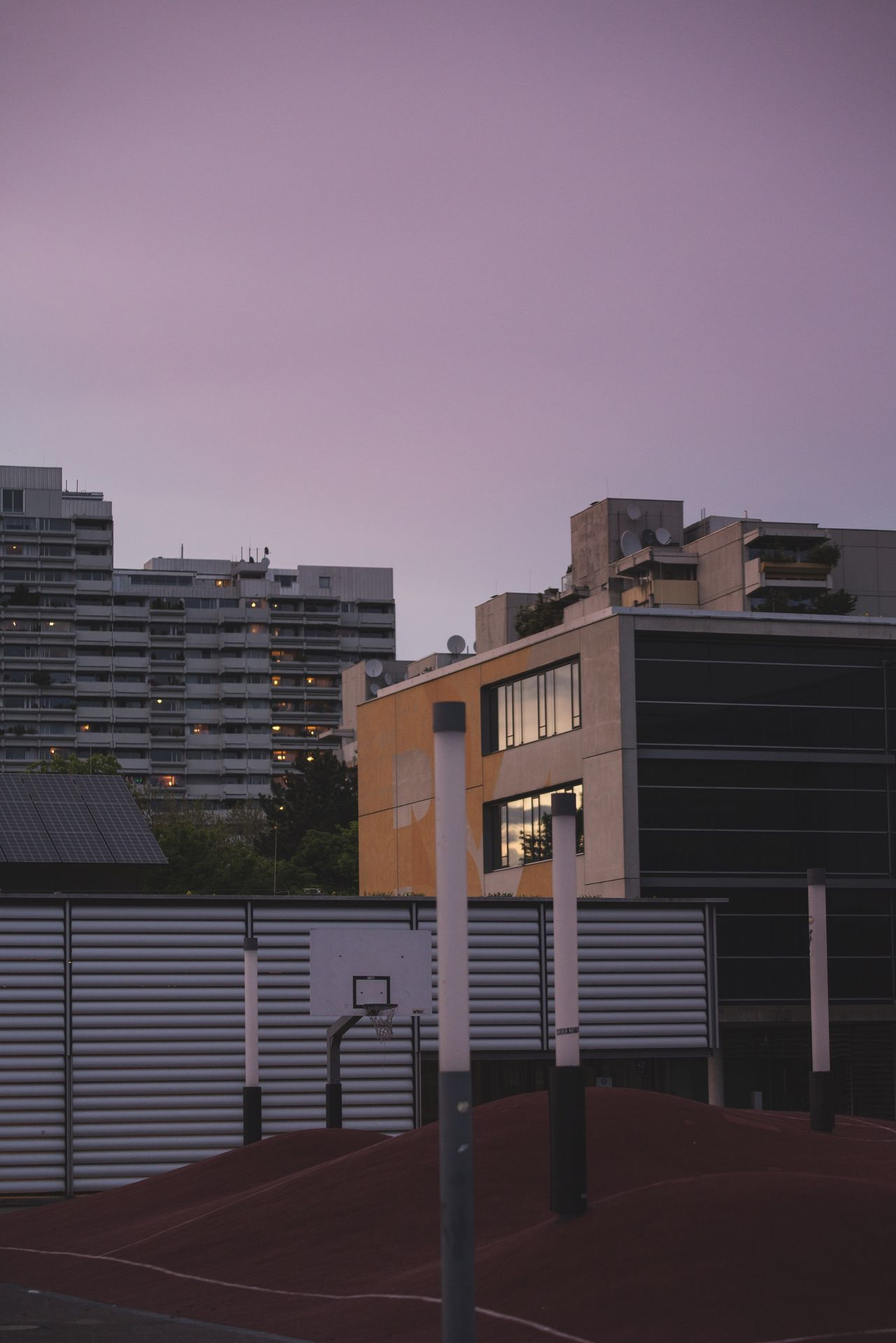Architecture Building Exterior Built Structure City No People Modern Skyscraper Outdoors Sky Clear Sky Apartment Day Sunset Subtle Vibe Moody