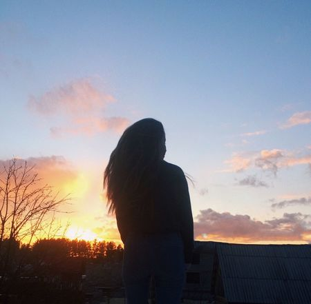 Sunset Sky One Person Beauty In Nature Beautiful Sunset Beautiful Sunset♥♥Good Evening EyeEm