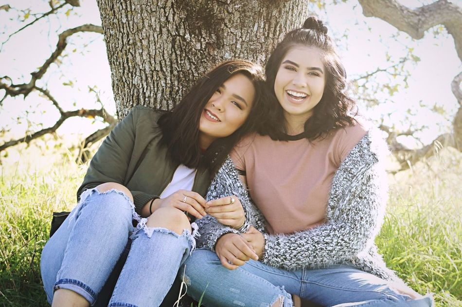 Beautiful stock photos of freundschaft, young adult, two people, tree, young women